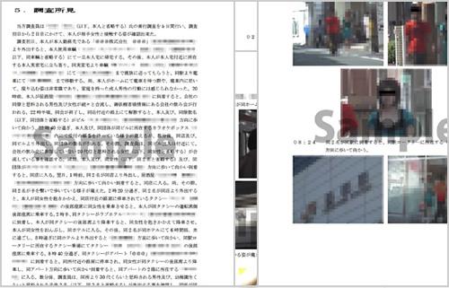 4.報告書作成イメージ